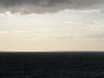 Der er en sølvstribe ved horisonten (ses kun i stor størrelse)