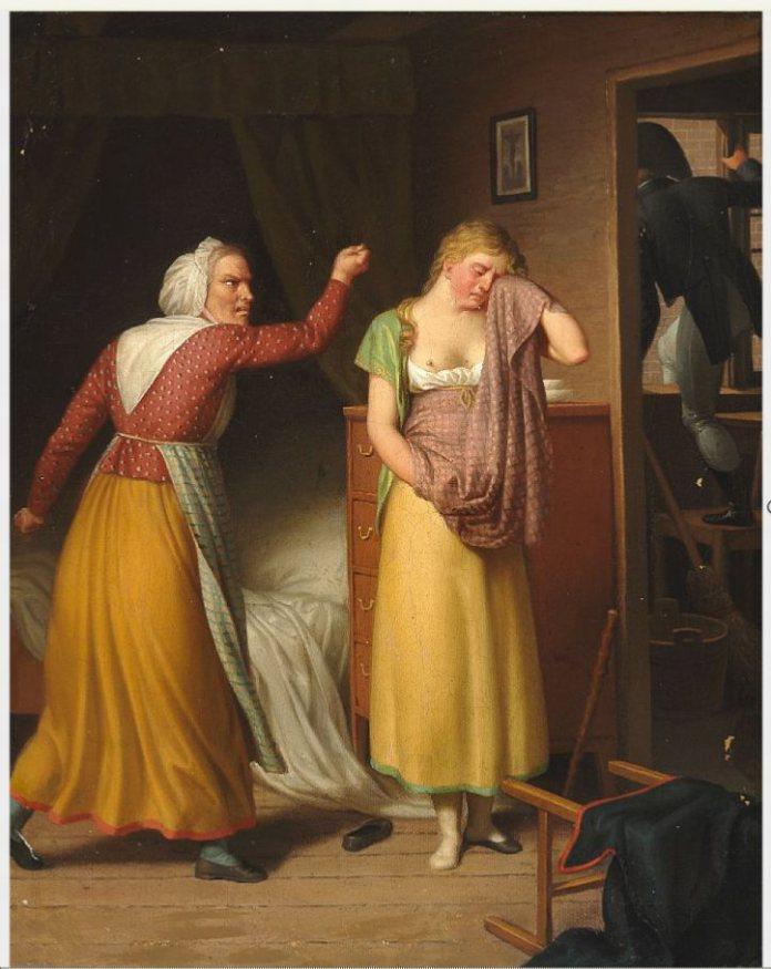 Eckersberg: Den faldne Kvinde