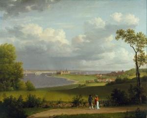 Eckersberg - Kronborg og Sundet