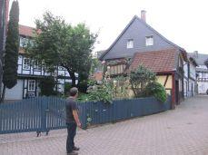 Der var pludselig en lille oase i Goslar