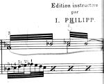 Pischna Exercises, bar 2