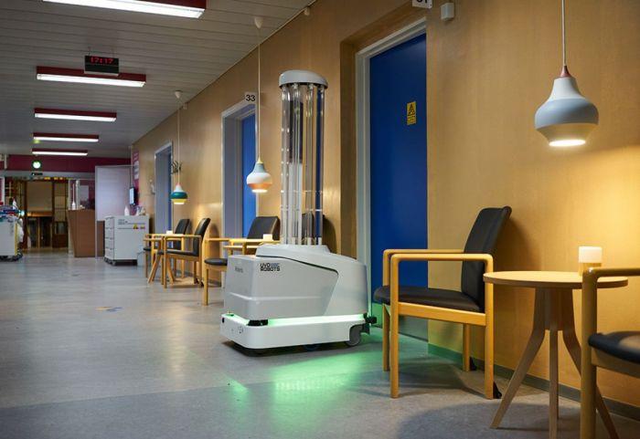 Hospital aisle